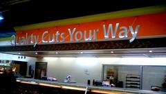 Supermarket meat department sign - SS (Maenette1) Tags: meat department sign jacksfreshmarket menominee uppermichigan signsunday flicker365 allthingsmichigan absolutemichigan projectmichigan