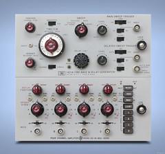 hp 1421A & hp 1404A web sized (jeffpeletz@bell.net) Tags: hewlettpackard hp1402a timebase delaygenerator oscilloscope plugins vintage testgear desktopwallpaper hp1404a 4channel verticalamplifier
