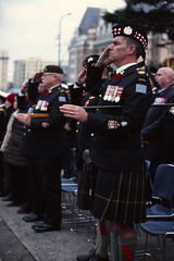 Medal Man (tyson_laidler) Tags: ektachrome e100 kodak 35mm canon eos3 remembrance day victoria bc