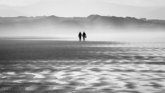 You & Me (P i a :)) Tags: wildatlanticway blackandwhite bannabeach beach landscapephotography seascape cokerry ireland mist