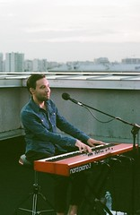 Timofeev. OQJAV. (vtsphotography) Tags: 35mm 35mmers film photography oqjav musician colour concert pentax k1000 fuji analogue analog man 2018 summer june russia moscow msk