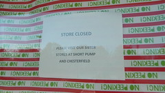 Macy's closure notice (RetailRyan) Tags: macys hechts abandoned closed dead empty former old vacant glenallen henrico va virginia