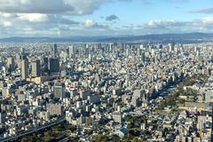 Osaka, Japan (globetrekimages) Tags: osaka japan city cityscape skyline urban density asia