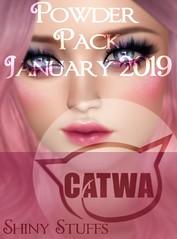 CATWA Jan Powder Pack Sneak Peek! (Tarani Tempest) Tags: secondlife shinystuffs catwa powderpack
