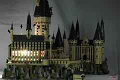 Lego Hogwarts 4 (psychosteve-2) Tags: hogwarts castle harry potter lego bricks architecture tower building