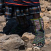 Issa tribe woman with beaded anklets, Afar Region, Gewane, Ethiopia