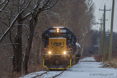 CSXT EMD GP40-2 #6203 @Morrisville, PA (Darryl Rule's Photography) Tags: 2018 aestaley buckscounty cpdq csx csxt clouds cloudy conrail conrailsharedassets dq dairyqueen delmorrave diesel diesels emd eastbound edgewoodrd freight freightcar freighttrain freighttrains gp402 inbound january mor1 mixedfreight morrisville ns norfolksouthern oldline prr pennsy pennsylvania pennsylvaniaave q158 q410 qa29 qa296 railroad railroads regionalrail sd70ace septa signal signals snow snowy staley staleylocal station streetrunning tollbrothers train trains trentonsub westtrentonline westbound winter ypmor12019 yardley