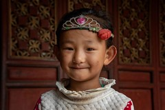 Naxi Girl  (in explore) (Rod Waddington) Tags: china chinese yunnan naxi minority traditional girl culture cultural child ethnic ethnicity portrait people happyplanet asiafavorites