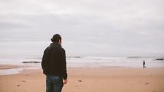 Jan-20 • Down by the Seaside II (Gregory Criteau) Tags: 365 self portrait seaside beach