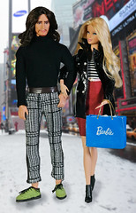 Fernando Portiak and Summer Weckhen (Fake Royalty) Tags: barbie basics mackie ken hunger games