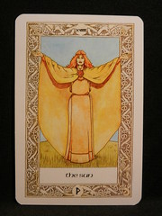 The Sun. (Oxford77) Tags: tarot thenorsetarot norse viking vikings cards card tarotcards
