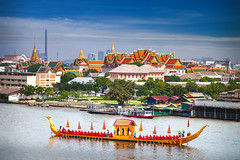 Royal Boat and river with grand palace background in Bangkok city (anekphoto) Tags: bangkok grand palace river thailand barge royal phraya chao king boat background temple ceremony ship travel city procession thai water holiday architecture tourism asia religion oriental buddhism golden buddhist abstract decoration yellow colorful art outdoor traditional wood gold head culture ancient paint dress wooden history rehearsal majesty katin chaopraya paksi