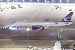 AVIASTAR TU B757-200PCF VQ-BPY 003 (A.S. Kevin N.V.M.M. Chung) Tags: aviation aircraft aeroplane airport airlines plane spotting macauinternationalairport mfm cargo boeing b757200 b757200pcf beacon night apron