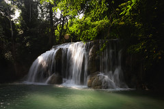Deep forest Waterfall (Patrick Foto ;)) Tags: amazing beautiful cascade cataract clean cool creek current emerald erawan fall flowing fluid foliage forest fresh freshness green heaven jungle kanchanaburi landscape leaf motion natural nature paradise park plant pool purity relax river rock scenic spring stream thailand tier torrent tourism travel tree tropical vacation water waterfall waterscape wild wonderful wood woodland sisawat th