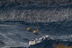 Photo of Open Cast Coal Mining @ Shotton England .