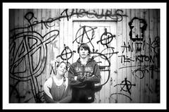 Breizh Anarchist (G.Billon) Tags: chidhood 4122018 blackandwhite noiretblanc bw breizh bzh bretagne anarchy nikond90 nikon gbillon