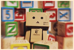 Danbo (N.the.Kudzu) Tags: tabletop stilllife danboard danbo wooden blocks canondslr lensbabysweet35 photoscape