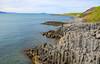 The columnar basalt rocks at Hofsós, Skagafjörður, North of Iceland (thorrisig) Tags: 24062018 hofsós skagafjörður landscape landslag stuðlaberg sigurgeirsson sigurgeirssonþorfinnur dorres iceland ísland island skagafjordur skagafjord icelandicnature norðurland northoficeland sea ocean rocks columnarbasalt