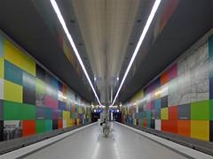 Georg-Brauchle-Ring (jrw080578) Tags: underground germany deutschland bavaria bayern munich münchen ubahn