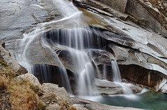Schöllenen (Tjaldur66) Tags: gorge water river longtimeexposure rocks mountains swissalps swissmountains switzerland centralswitzerland valley waterfall creek