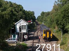robfrance5d2_27911_070718_x156441_rainford_2j08_nt_sig_stf_edr16lr6pse15weblowres (RF_1) Tags: 156 156441 2018 absoluteblock absoluteblocksignalling arriva britain british class156 cummins cumminsnt855r5 db deutschebahn dieselmultipleunit dmu england franchise greatbritain historical kirkbywigan kirkbytowigan lancashire localtrain localtrains mechanical merseyside metrocammel northern northernengland northernrail passengertrain publictransport rail railway railways rainford safety semaphore signal signalbox signalman signaller signalling signals singlelinetoken sprinter stoppingtrain stoppingtrains supersprinter tokenexhange train trains transport travel traveling uk unitedkingdom victorian wigankirkby wigantokirkby