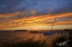 Sebastian, Florida (Mike Woodfin) Tags: mikewoodfin mikewoodfinphotography fuji florida fl fishing photo p picture photography photograph photos photoshop pretty park nikon nature canon contrast color cool sebastian indianriver indianrivercounty intracoastal island sailboat orange blue atlantic ocean river reflections reflection dock clouds cloud sunrise sunset