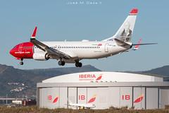Norwegian B737-8JP LN-NIH (José M. Deza) Tags: 20181220 b7378jp bcn boeing elprat lebl lnnih norwegain planespotting spotter aircraft