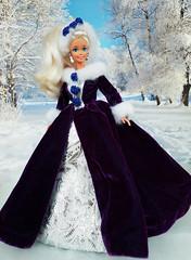 Angel Princess Barbie doll (alenamorimo) Tags: barbie barbiedoll doll winter barbiecollector superstar holidays