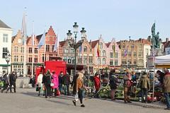 Grote Markt (Brian Aslak) Tags: brugge bruges westvlaanderen vlaanderen flandre flanders belgië belgium belgique europe town grotemarkt marked