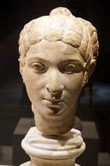 Bust of a lady (LJMcK) Tags: nma nationalmuseumofaustralia britishmuseum roman classical sculpture