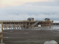Shuswap Morning (jamica1) Tags: shuswap lake salmon arm bc british columbia canada mist fog cloud pier wooden