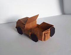 Jeep Willys M38 (orig4mi.) Tags: jeep origami paperfolding