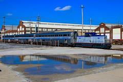 El Capitan (BravoDelta1999) Tags: amtrak amtk newyorkcentral nyc railroad cccstl bigfour railway beechgrove indiana locomotive shops ge 80tonner usax usarmy 1000 budd company hilevel