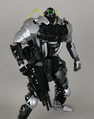 Carbonfibre Commando (_CZQ_) Tags: bionicle bioniclemoc bioniclecharacter ccbs custombionicle constraction character customlego lego legos legophotography legomoc legocharacter soldier gun herofactory robot robots toy toyphotography toys technic actionfigure w