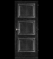 Trieste Door | Black Apricot & Silver (thedoorsdepot) Tags: doors door interior usa design ideas home improvement renovation style fashion wood construction black color