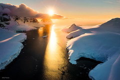 Peltier Channel (Viktor Posnov) Tags: antarctic summer drone антарктида mountain aerialview southernocean antarctica aerial antartica snow cold aq