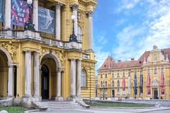 National Theatre in Zagreb (Yvan Rouxel) Tags: cityofzagreb croatia january nationaltheatre wpcroatia winter zagreb hrv