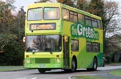 P907 RYO (Nivek.Old.Gold) Tags: 1997 volvo olympian northern counties palatine doubledecker bus 9600cc thegreenbus cambridgebuscoach
