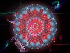 Mandala 219 (karl_eschenbach) Tags: mandala abstract digitalart apophysis photoshop buddha spirituality