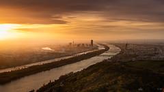 Good Morning, Vienna (markus_mk85) Tags: vienna austria wien sunrise sonnenaufgang morning sony alpha sonne donau 6300 sel18135