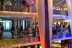 Grand Lobby - 2 (Average Photographer 1992) Tags: alaska alaskacruise celebrityinfinity celebrityxcruises cruises cruise cruiseship cruiseships ship ships nikonphotography nikon nikonphotographer nikonuser nikond3100 june2017 sail sailing sailaway lobby inside
