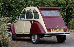 E705 HCF (Nivek.Old.Gold) Tags: 1988 citroen 2cv6 special dolly 602cc