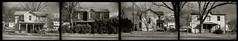 29th Street, Buena Vista (efo) Tags: bw film tetraptych polyptych incamera multiframe argus c3 buenavista virginia rockbridge
