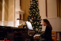 Happy Holidays-1075 (Sweet Briar Photos) Tags: vespers concert tree christmastree piano music chapel memorialchapel happyholidays sing singing choir
