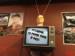 """Nightmare on Elm Street: Dream Warriors Display at Slashback Video • <a style=""""font-size:0.8em;"""" href=""""http://www.flickr.com/photos/28558260@N04/31352130587/"""" target=""""_blank"""">View on Flickr</a>"""
