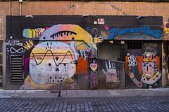 ... Malasaña ... (Lanpernas .) Tags: salamaravillas street streetart mercadotecnia bares bar madrid malasaña barrio 2018 calle grafitti saladeespectáculos maravillas