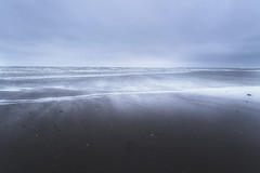 Sheer (SimonMastersPhotography) Tags: sea water waves wind spray surge tide incoming clouds overcast rain