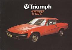 Triumph TR7 brochure (Hugo-90) Tags: triumph tr7 ads advertising brochure car sports auto automobile 1978