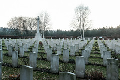 Commonwealth War Graves cemetery at Cannock (timnutt) Tags: memorial 35f2wr gravestone 35mm fujifilm german xt2 war graveyard chrome wargraves fuji cannockchase fujichrome staffordshire cemetery cannock commonwealth