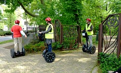 Touring on a Segway, Oak Park, Illinois (Joseph Hollick) Tags: segway illinois oakpark